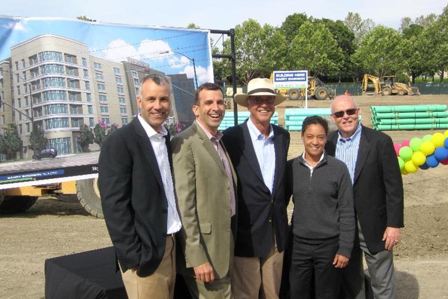 Tại lễ khởi công dự án San Jose Marriott